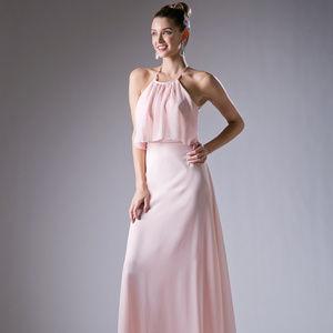 Sleeveless Long Evening Dress CD13031